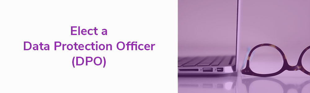 GDPR Requirements and Characteristics - Elect a Data Protection Officer (DPO)