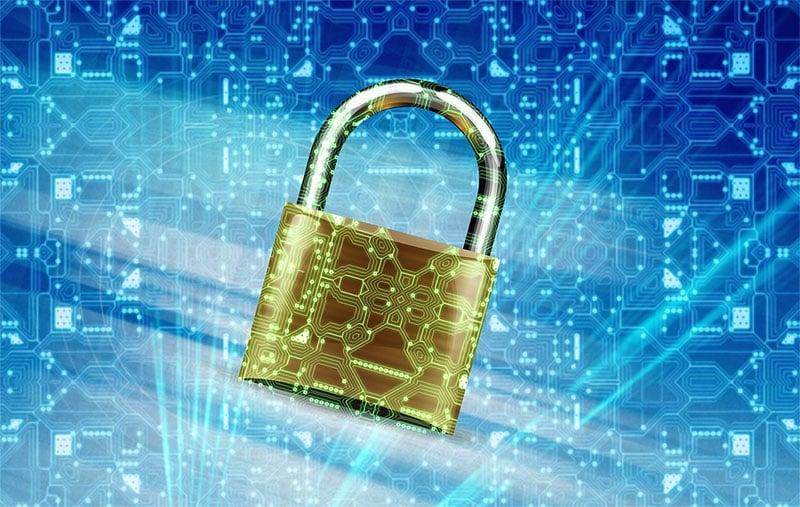 Photo: Security lock