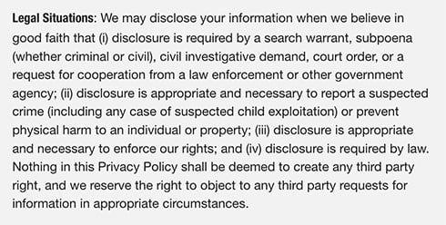 Privacy Policy For A SaaS Business PrivacyPoliciescom - Saas privacy policy template