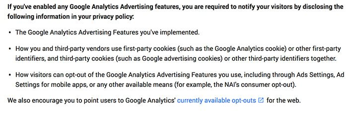 Using Google Analytics Better Update That Privacy Policy Privacy