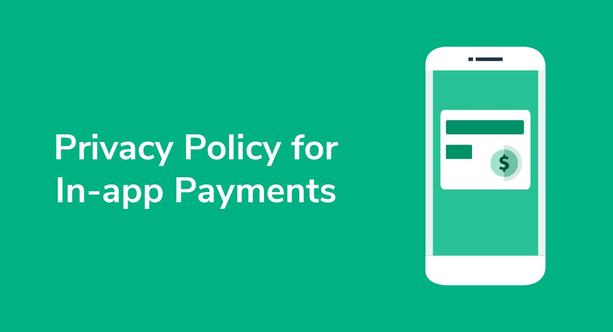 Privacy Policy for In-app Payments