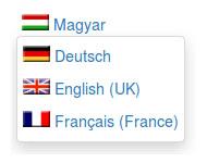 Usersnap Blog: Language selection dropdown for a blog