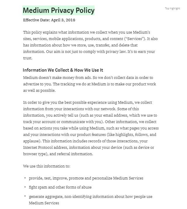 Privacy Policy >> Sample Privacy Policy Template Privacy Policies
