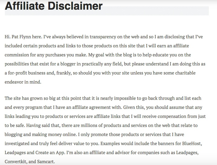 Earnings Disclaimer >> Affiliate Marketing Earnings Disclaimer Define Affiliate