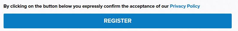 POLITICO EU Register form: By clicking register button Privacy Policy is accepted
