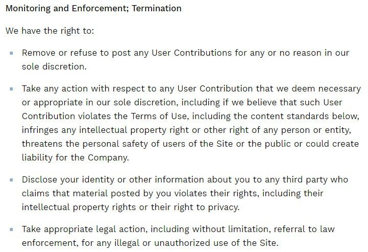 Terms Of Use >> Privacy Policies Versus Terms And Conditions Agreements