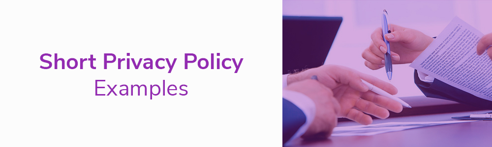 Short Privacy Policy Examples