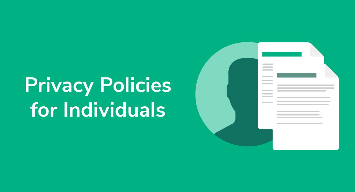 Privacy Policies for Individuals
