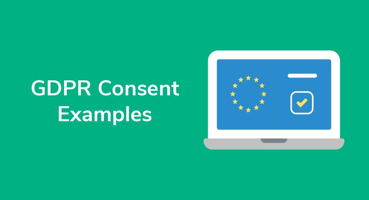 GDPR Consent Examples