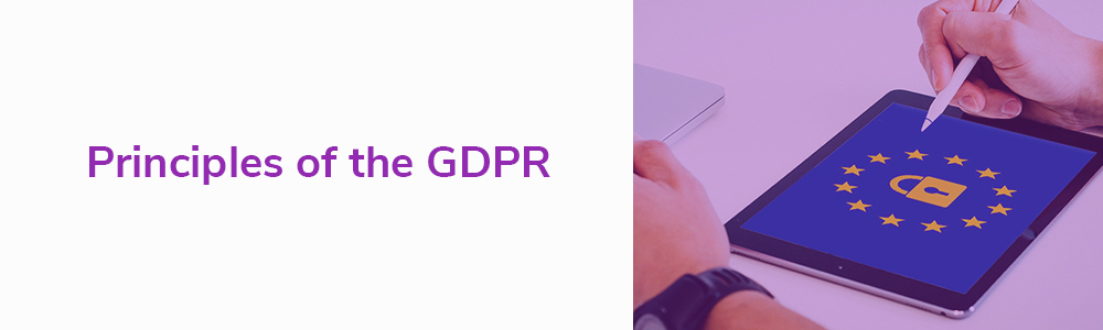 Principles of the GDPR