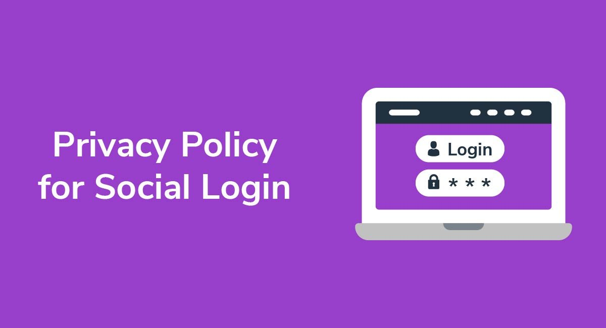 Privacy Policy for Social Login
