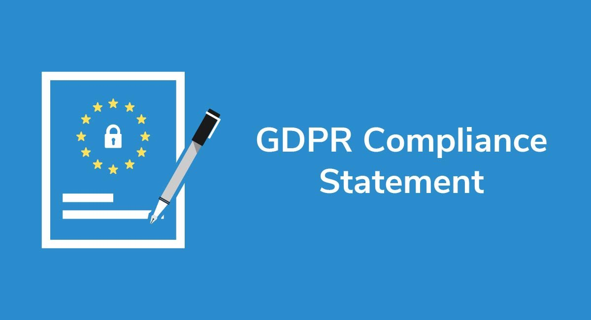 GDPR Compliance Statement