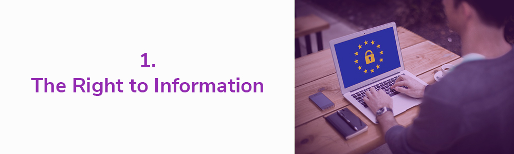 1. The Right to Information