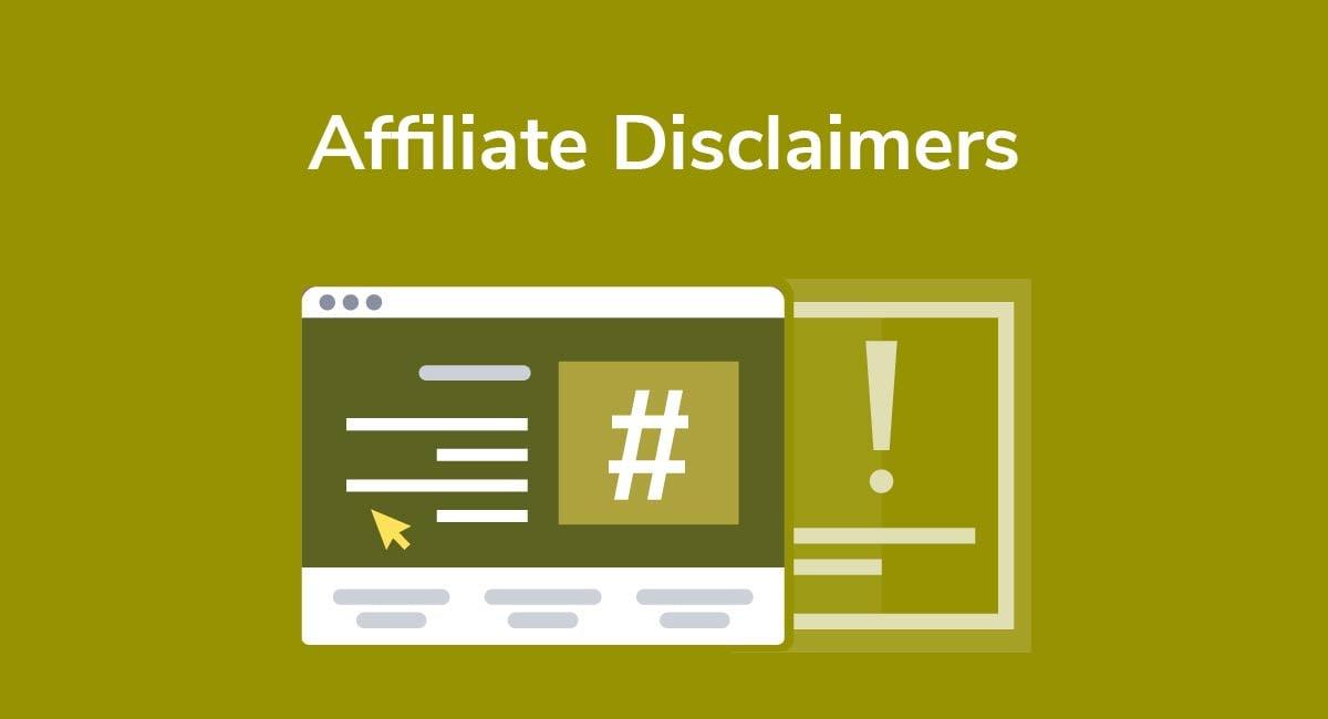 Affiliate Disclaimers