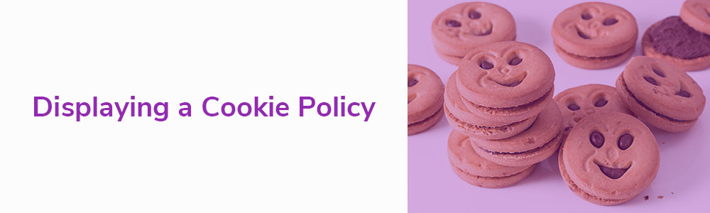 Displaying a Cookie Policy
