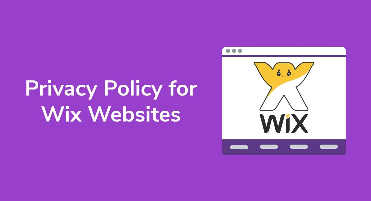 Privacy Policy for Wix Websites