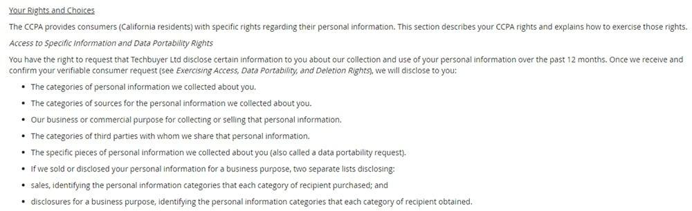 SeaLights contact form screenshot