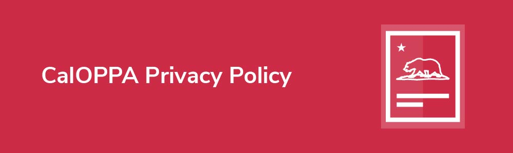 CalOPPA Privacy Policy