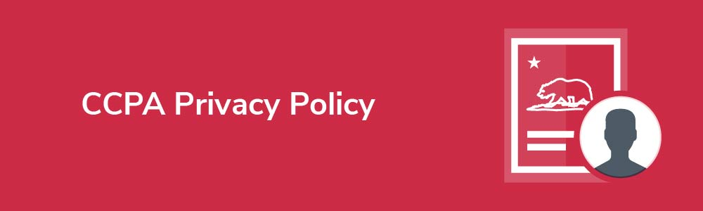 CCPA Privacy Policy