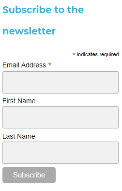 Bret Contreras email sign-up form