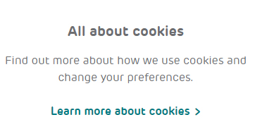 EE UK Privacy Center: All About Cookies section