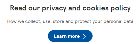 Tesco Privacy Center: Privacy and Cookies Policy link