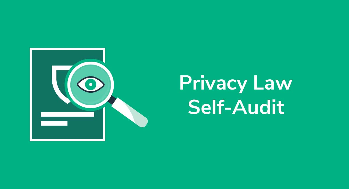 Privacy Law Self-Audit: Protecting and Managing Personal Data