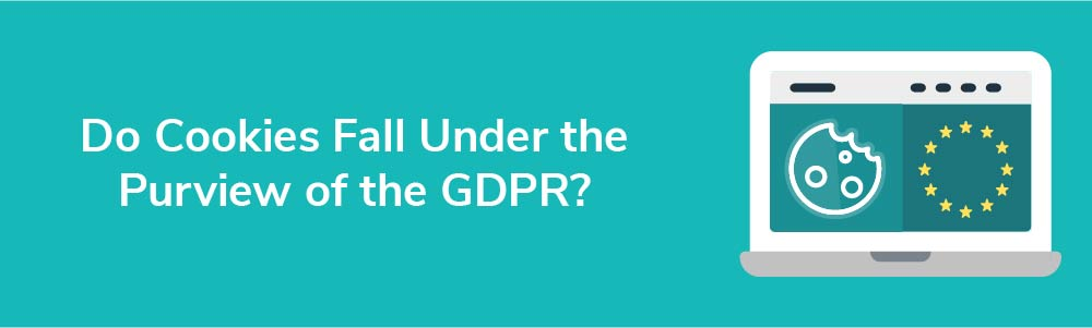 Do Cookies Fall Under the Purview of the GDPR?