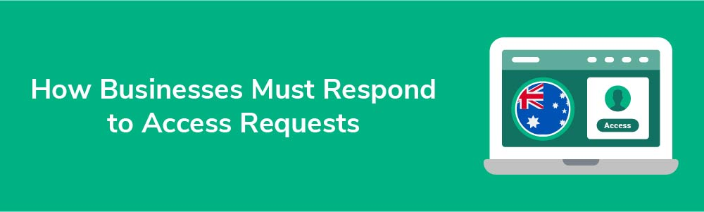 How Businesses Must Respond to Access Requests