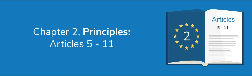 Chapter 2 - Principles: Articles 5 - 11