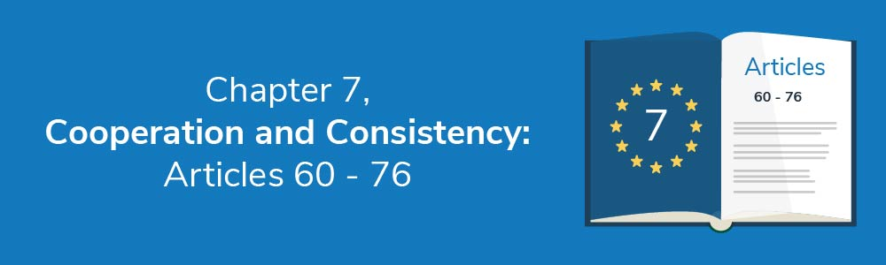 Chapter 7 - Cooperation and Consistency: Articles 60 - 76