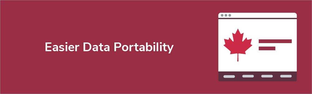 Easier Data Portability