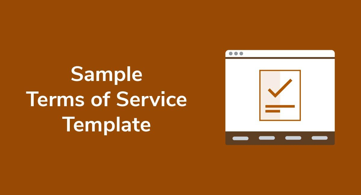 Sample Terms of Service Template