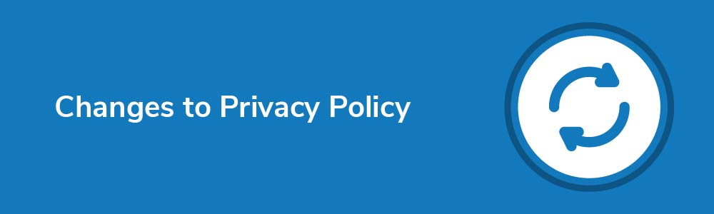 Changes to Privacy Policy