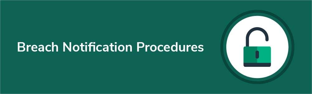 Breach Notification Procedures