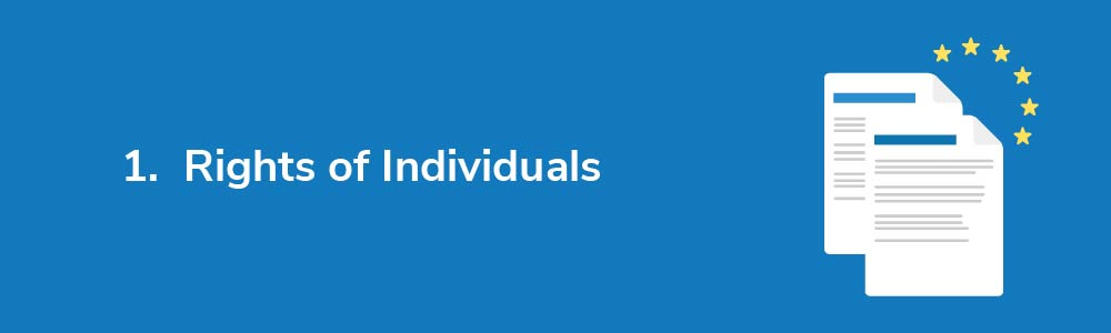 1.  Rights of Individuals