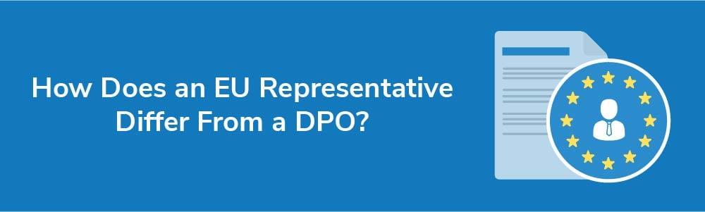 How Does an EU Representative Differ From a DPO?