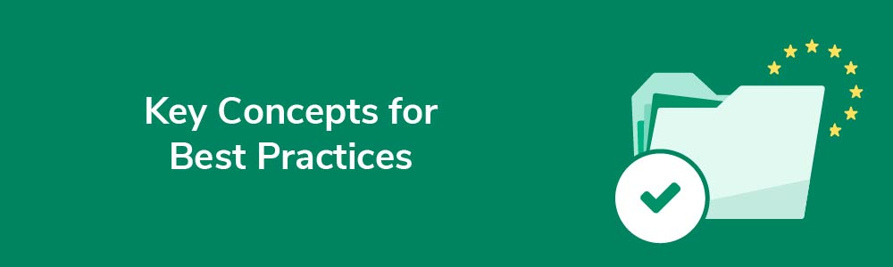 Key Concepts for Best Practices