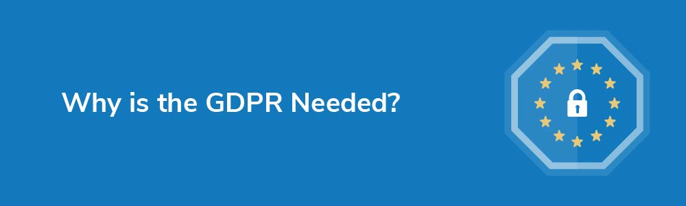 Why is the GDPR Necessary?