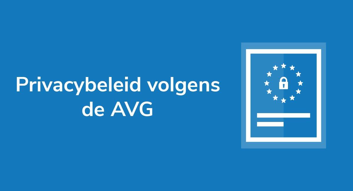 Privacybeleid volgens de AVG