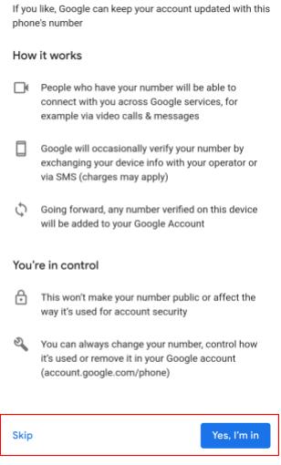 Einwilligungsanfrage-Bildschirm der Google Drive Android-App
