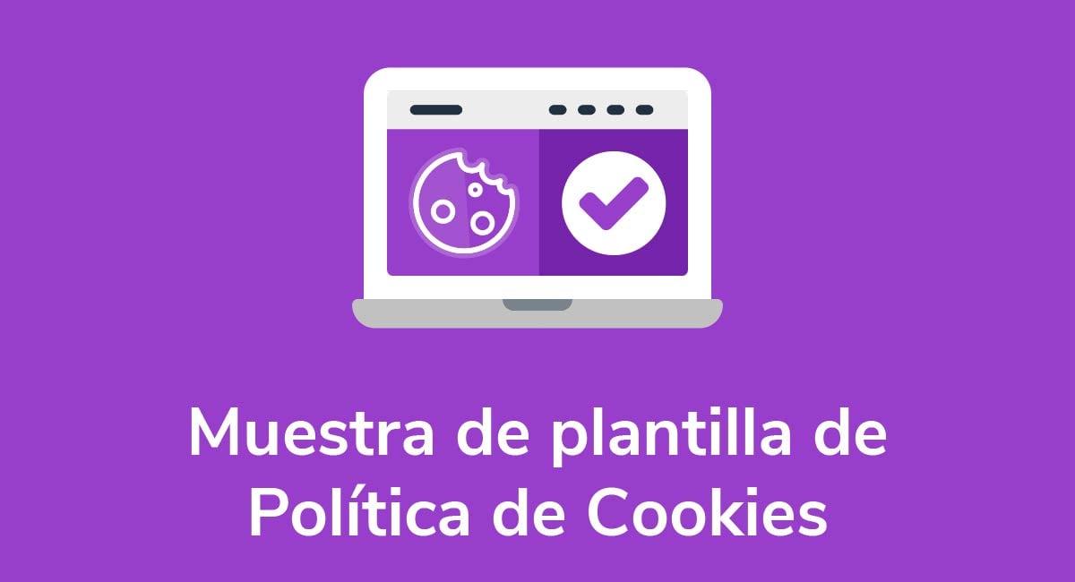 Muestra de plantilla de Política de Cookies