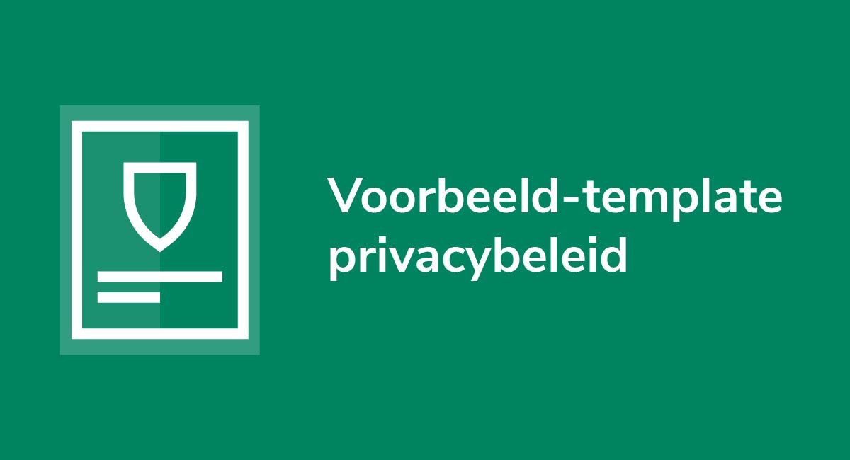 Voorbeeld-template privacybeleid