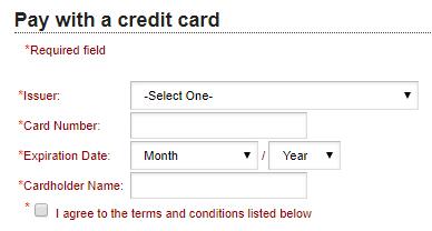 Schermata di pagamento di Direct Gardening con la casella di spunta Acconsento ai Termini e condizioni