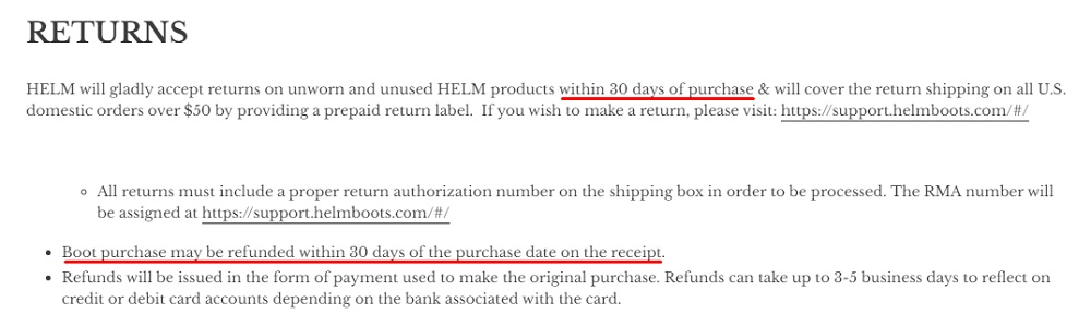 helm-boots-returns-policy-30-days-sections-highlight